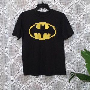 Lego Batman Boy's Black Short Sleeve Shirt Size XL